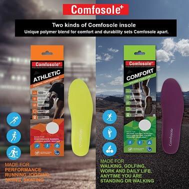 แผ่นรองเท้า Comfosole